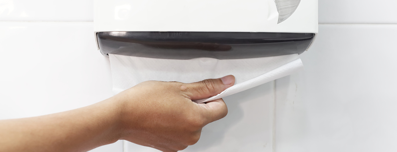 Improve the way you use paper towels and reduce waste?