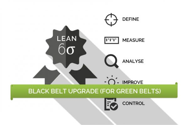Black Belt Upgrade for Green Belts Lean Training