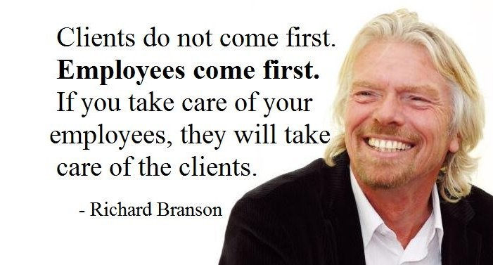 Richard Branson Employee Engagement