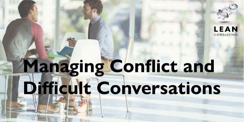Conflict and Difficult Conversations