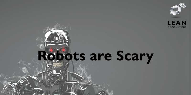 Robots are Scary